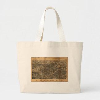 Pittsfield Massachusetts (1899) Large Tote Bag