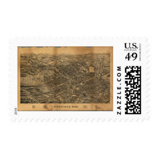 Pittsfield Massachusetts (1899) Postage
