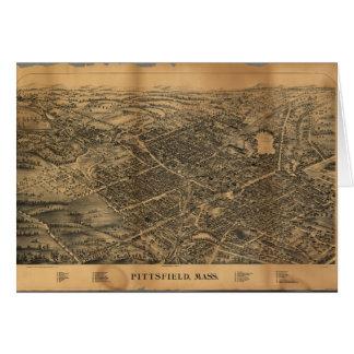 Pittsfield Massachusetts (1899) Tarjeta De Felicitación