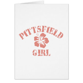 Pittsfield Pink Girl Greeting Card