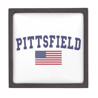 Pittsfield US Flag Gift Box