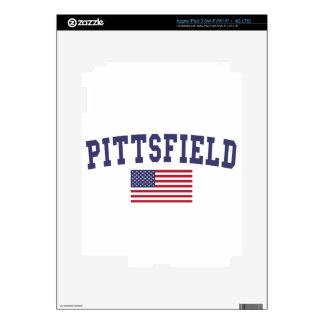 Pittsfield US Flag iPad 3 Skin