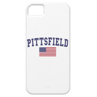 Pittsfield US Flag iPhone SE/5/5s Case
