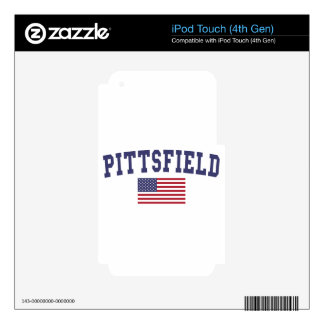 Pittsfield US Flag iPod Touch 4G Skins