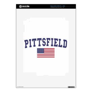 Pittsfield US Flag Skin For iPad 2