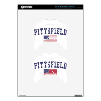 Pittsfield US Flag Xbox 360 Controller Decal