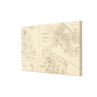 Pittsfield Village, Dunbarton, Pittsfield Canvas Print