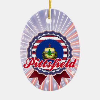 Pittsfield, VT Ornamento Para Arbol De Navidad