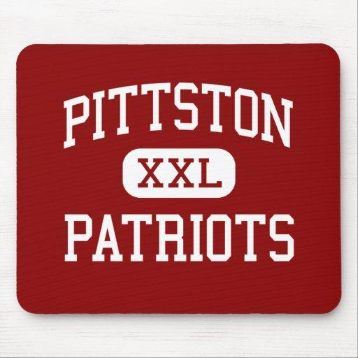 Pittston - patriotas - área - Pittston Pennsylvani Tapete De Ratones