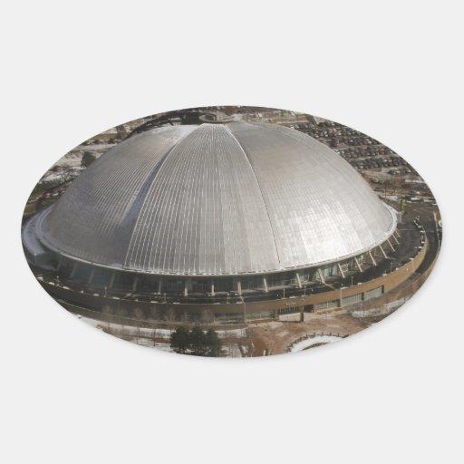 pitttsburgh pegatina de oval personalizadas