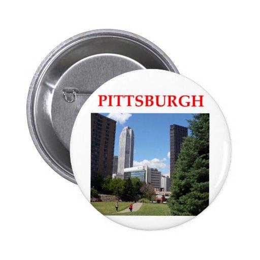pitttsburgh pin redondo 5 cm