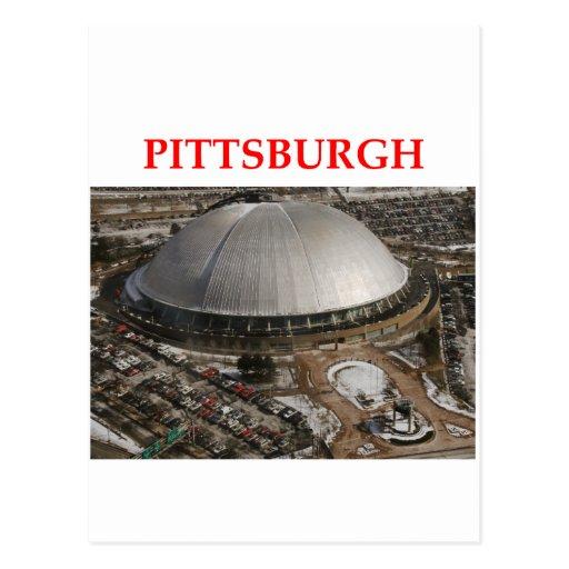 pitttsburgh tarjeta postal