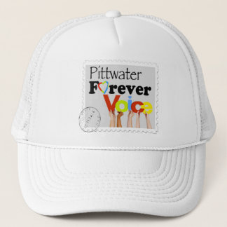 Pittwater Forever local voice logo Trucker Hat