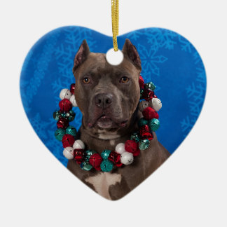 Pitty Christmas Ceramic Ornament