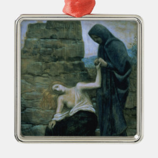 Pity, 1887 metal ornament