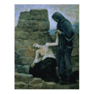 Pity, 1887 postcard