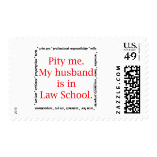 Pity me...husband, Law School Stamp