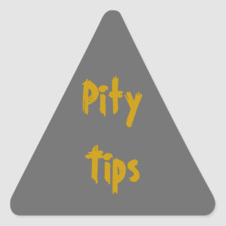 Pity Tips Stickers