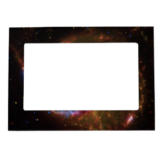 pitzer-Hubble-Chandra Composite of M101 Photo Frame Magnets