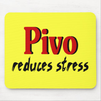 Pivo reduces stress mouse pad