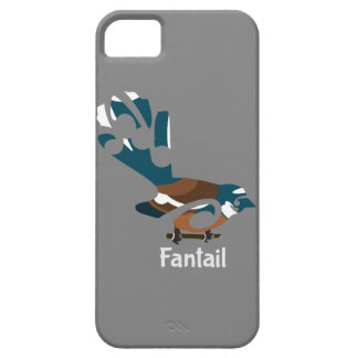 Piwakawaka | Fantail | New Zealand bird iPhone 5/5S Cases