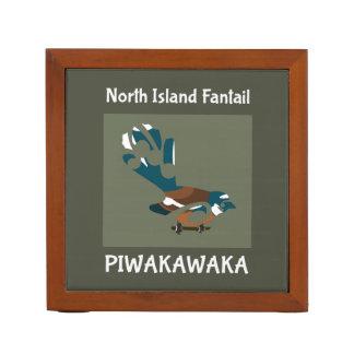 Piwakawaka | Fantail | New Zealand bird Pencil/Pen Holder