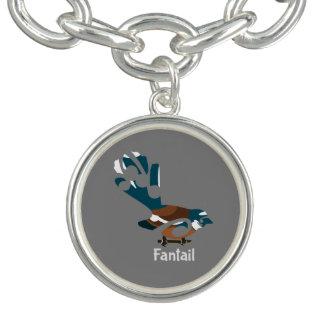Piwakawaka  New Zealand bird Bracelets