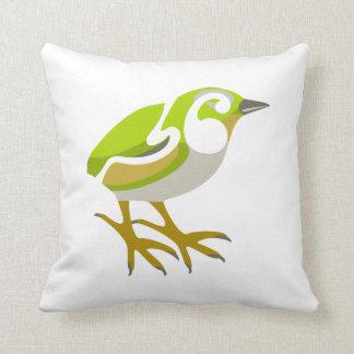 Piwauwau Throw Pillows
