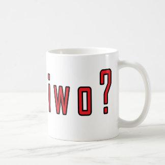 ¿piwo conseguido? taza de café