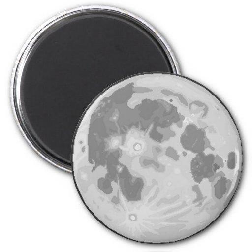 Pix-SOL Moon Magnet