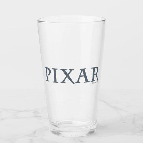 Pixar Gray Logo Glass