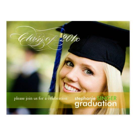 PixDezines 2011 Graduation Photo postcards, Postcard