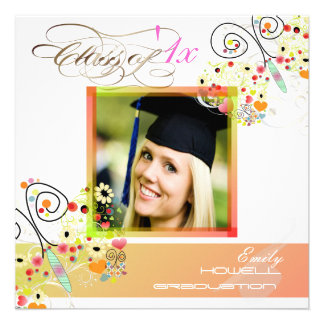 PixDezines 2012 Graduation Photo Invitations