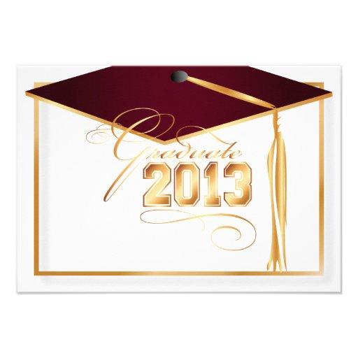 Graduation Cap Invitations for luxury invitations template