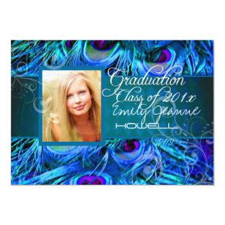 PixDezines 2013 graduation/peacock Card