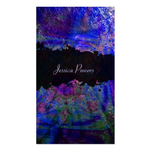 PixDezines abstract/cobalt/indigo/metallic texture Double-Sided Standard Business Cards (Pack Of 100)