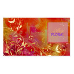 PixDezines abstract+filigree swirls Double-Sided Standard Business Cards (Pack Of 100)