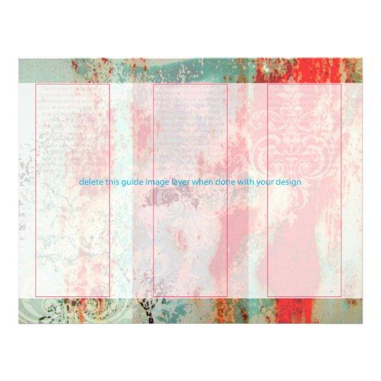PixDezines Abstract/rusted door+damask Flyer