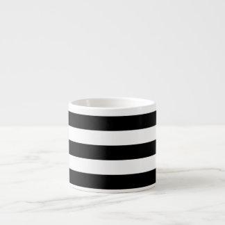 PixDezines adjustable white stripes/diy color Espresso Cup