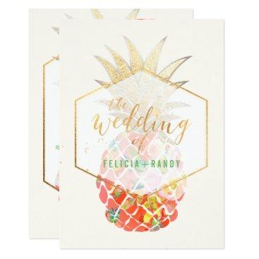 Beach Themed PixDezines Aloha Hawaiian Pineapples/DIY Backgroun Card