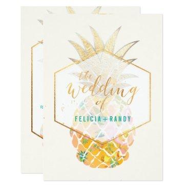 Beach Themed PixDezines Aloha Hawaiian Pineapples/DIY Bckgrnd Card