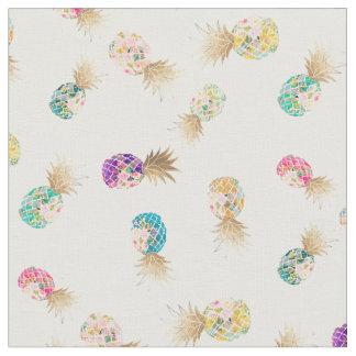 PixDezines Aloha Pineapples/DIY Background Fabric