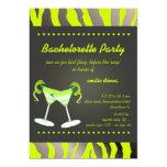 PixDezines apple martini Bachelorette Party Invites