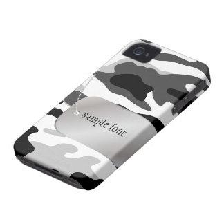 PixDezines Arctic Camo+Dog+Tag iPhone 4 Case-Mate Case