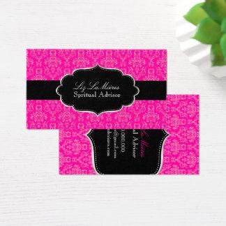 PixDezines Arianna Damask/DIY color Business Card