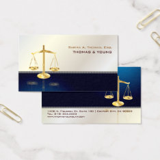 Pixdezines Attorney, Navy+grey Pinstripe Business Card at Zazzle