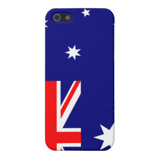 PixDezines Aussie Union Jack Cover For iPhone SE/5/5s