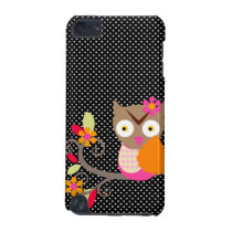 PixDezines baby owl/DIY background color iPod Touch (5th Generation) Cover