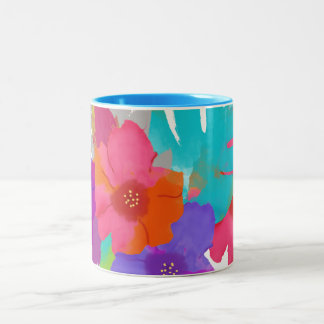 PixDezines balikai/diy background Two-Tone Coffee Mug
