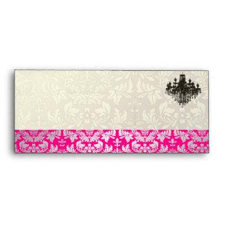 PixDezines Baroque Damask+Chandelier Envelopes